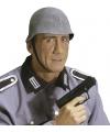 Soldaten helm van grijs rubber